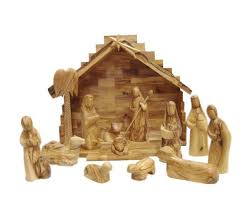 carversart modern olive wood nativity set with stable reviews