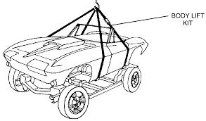 corvette supply lift kit diagram view chicago corvette supply