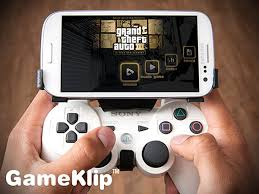 how to connect ps3 controller to android gameklip combines ps3 controller with android phones poor s
