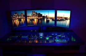 Computer Built Into Desk Desk Amazing Computer Built Into Desk Wonderful Workspace