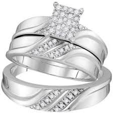 his and hers white gold wedding rings his and hers wedding ring sets