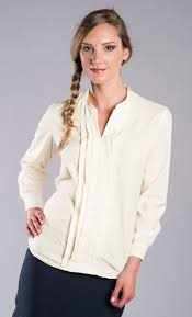 pleated blouse pleated v neck blouse sharperuniforms com
