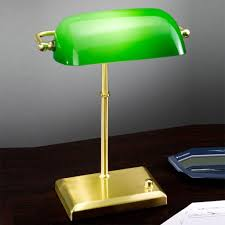 green office lamp antique bankers lamp part 5 green desk lamps
