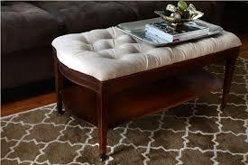Coffee Table Or Ottoman - diy ottoman coffee table with storage