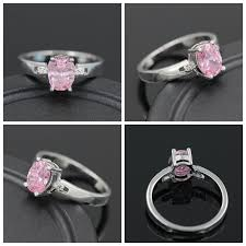 wedding ring black friday uloveido pink rings for women bijouterie wedding ring crystal