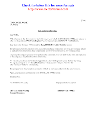 Business Letter Offer best photos of sle offer letter format company offer letter