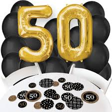 50th birthday balloon bouquets 50th birthday balloon and confetti kit 50th birthday