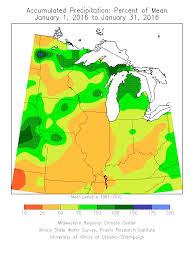 Illinois State University Map by Hydroclim Minnesota For Early February 2016 Minnesota Dnr