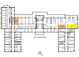 second floor layout hotel domus pacis assisi