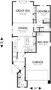 narrow lot plans best 25 narrow house plans ideas on small open floor