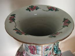 canton porcelain 19th century famille canton porcelain vase for sale at