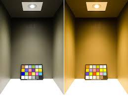 cob led recessed light fixture w multifaceted lens 95 watt