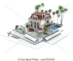 home design drawing stock illustration of house design progress architecture drawing