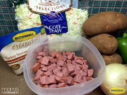 butterball fried turkey easy family dinner butterball turkey sausage and fried potatoes