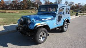 turquoise jeep renegade 1975 jeep cj 5 renegade levi u0027s edition f95 austin 2015