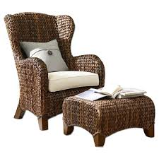 Patio Chairs With Ottomans by Furniture Patio Chair By Seagrass Furniture For Outdoor Furniture
