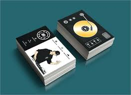 exciting dj business cards templates free card download premium 9115