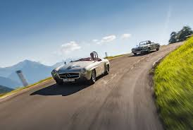 mercedes benz classic auf der silvretta classic rallye montafon