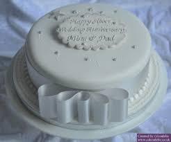 silver wedding anniversary cake anniversary cakes