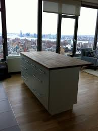 ikea kitchen island installation interior fascinating kitchen decoration with butcher block ikea