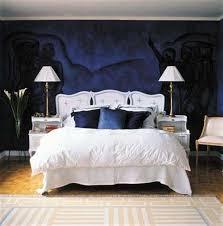 Dark Blue Bedroom Design Navy Blue And White Make A Rich Refined - Dark blue bedroom design
