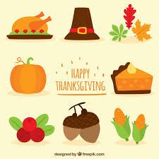 happy thanksgiving vector premium