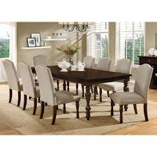 steve silver leona 9 piece dining table set hayneedle
