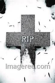image of rest in peace grave rip cold
