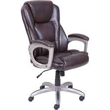Leather Office Chair Serta Big U0026 Tall Commercial Office Chair With Memory Foam