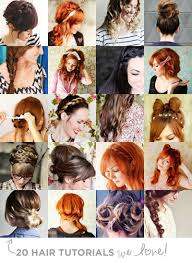 hairstyles easy to do for medium length hair 20 hair tutorials we love u2013 a beautiful mess