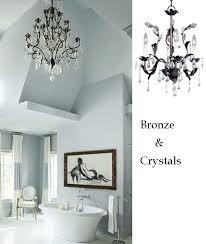 bathroom chandelier lighting ideas 10 bathroom lighting ideas with chandeliers ls plus