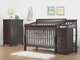 4 In 1 Convertible Crib With Changer Is Baby Crib Changing Table And Dresser Sets The Most
