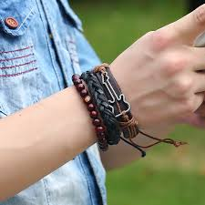 hand wrist bracelet images Guitar leather bracelet new hot sale harmony hop jpg