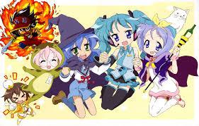 anime halloween background lucky star buscar con google lucky star pinterest lucky