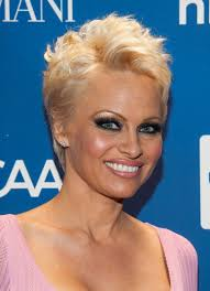 Short Hairstyle Ideas 2014 by Pamela Anderson Pixie Cut Pamela Anderson At Help Haiti Gala