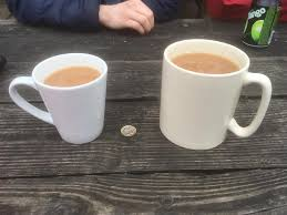 Meme Cafe - put me like this cafe in yorkshire sells tea by the pint pound