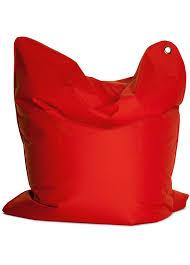 sitzsack big bag sitting bull 618112 sitzsack the bull 190 x 130 cm flammenrot
