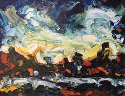 german expressionism celtic trees hubert roestenburg