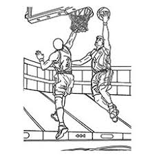 Top 20 Free Printable Basketball Coloring Pages Online Basketball Color Page