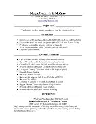 architectural resume for internship pdf to excel objective internship resume endo re enhance dental co