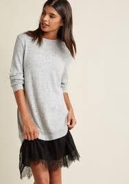 dynamic mini sweater dress modcloth