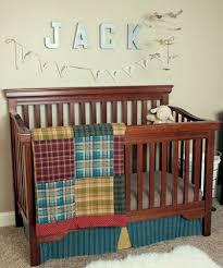 Plaid Crib Bedding Plaid Baby Bedding Wellbx Wellbx