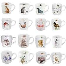 china designs wrendale mugs by royal worcester choice of designs fine bone china