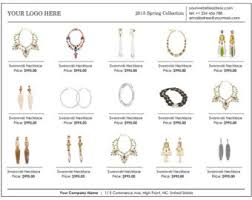 28 jewelry line sheet template gallery for gt wholesale