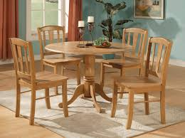 Circle Wood Dining Table by Chair Zenia Oak 150cm Round Dining Table Amp 4 Monaco Chairs Black