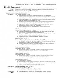 resume objective part time job resume objective examples job