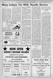 bureau vall loud c of cincinnati record thursday october 13 1966