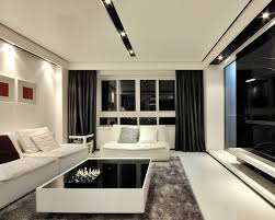 White Black Curtains Black And White Living Room Curtains U2013 Modern House