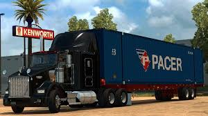kenworth t800 truck kenworth t800 v1 1 truck american truck simulator mod ats mod