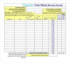 Excel Work Timesheet Template 13 Employee Timesheet Templates Free Sle Exle Format